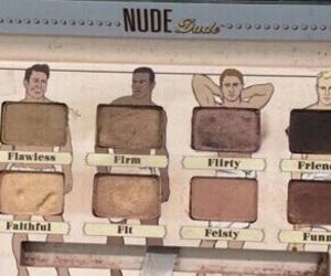 makeup, beige, and brown image