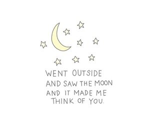 moon, stars, and tumblr image
