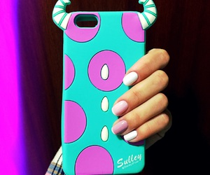 case, monsters inc., and nails image