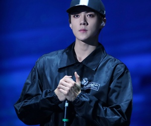 exo, idol, and sehunnie image