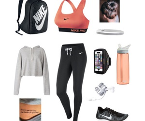 gym, outfit, and Polyvore image