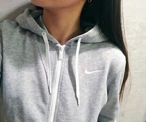 nike, grey, and outfit image