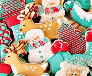Cookies, food, and xmas image