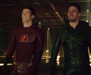 arrow, serie, and the flash image