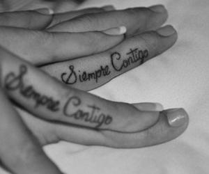 beautiful, tattoo, and couples image