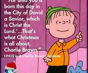 christmas, charlie brown, and jesus image