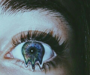 eyes, eye, and grunge image