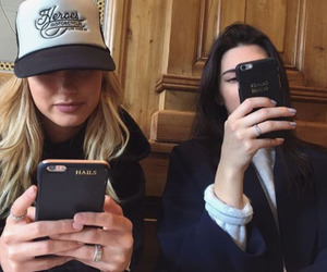 kendall jenner and hailey baldwin image