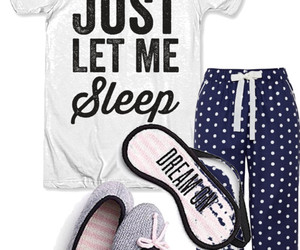 pijama and Polyvore image