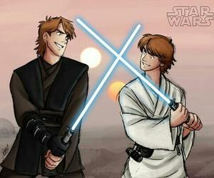 luke skywalker, Anakin Skywalker, and star wars image