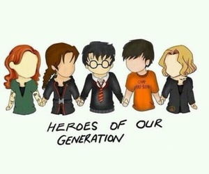 harry potter, percy jackson, and fandom image