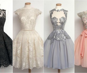 dresses, fashion, and vintage image