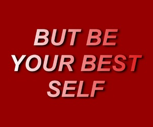 red, aesthetic, and quote image