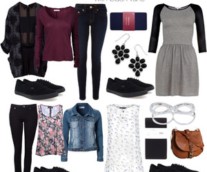 outfit, college, and ideas image