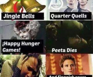 games, hunger, and hunger games image