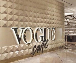vogue, brown, and cafe image