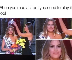 miss universe and funny image