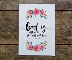 christian, god, and strength image