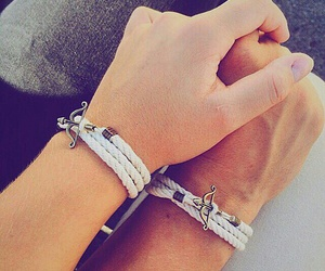 cute couples, hands, and boyfriend girlfriend image