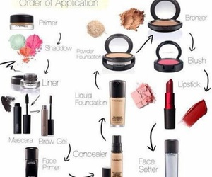 makeup, beauty, and make up image
