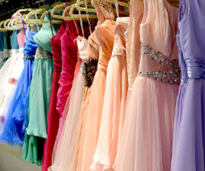evening dress, party dress, and prom dress image