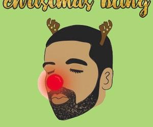 Drake, christmas, and wallpaper image