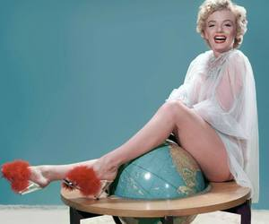 Marilyn Monroe, anos 50, and vintage image