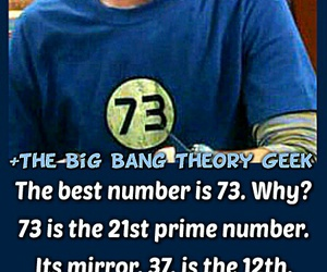 mathematics, sheldon, and 73 image