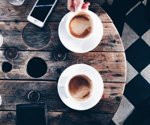 coffee, style, and friends image