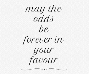 black and white, hunger games, and quote image