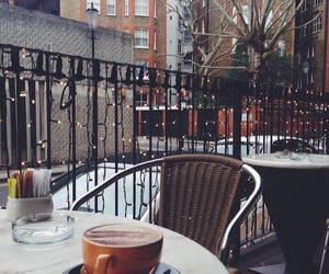 coffee, winter, and cafe image