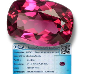 rubellite, crystals, and garnet image