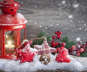snow, winter, and holiday image