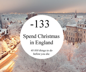 christmas and england image