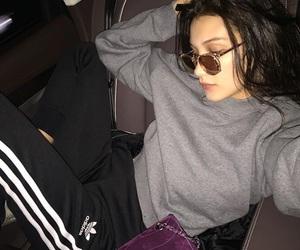 bella hadid, adidas, and model image