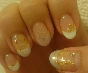 ballet, nail, and winter image