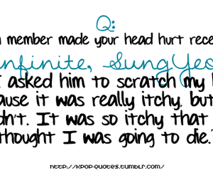 funny, sungyeol, and infinite image