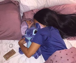 sleep and stitch image