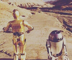 star wars, r2d2, and c3po image