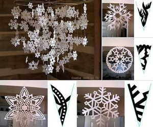 diy, christmas, and snow image