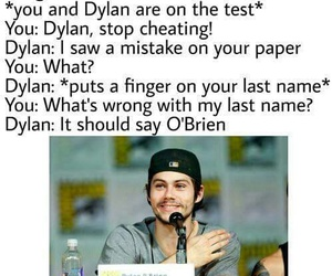 dylan o'brien, teen wolf, and imagine image