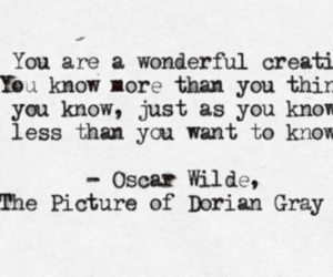 quote, book, and oscar wilde image