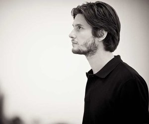 ben barnes, black and white, and love image