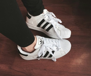 adidas, bnw, and shoes image