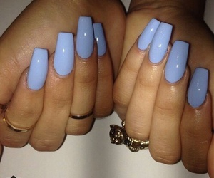 acrylic, luxury, and nails image