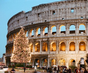 rome, christmas, and italy image