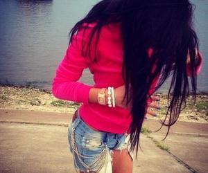 fashion girly pink image