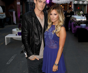 ashley tisdale, couple, and event image