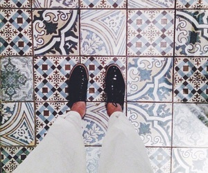 shoes and floor image