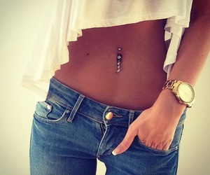gold and piercing image
